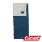 【美國Coleman】表演者III 白灰睡袋/C15 信封型睡袋 化纖睡袋 可雙拼連接 (舒適溫度:15℃) CM-32339