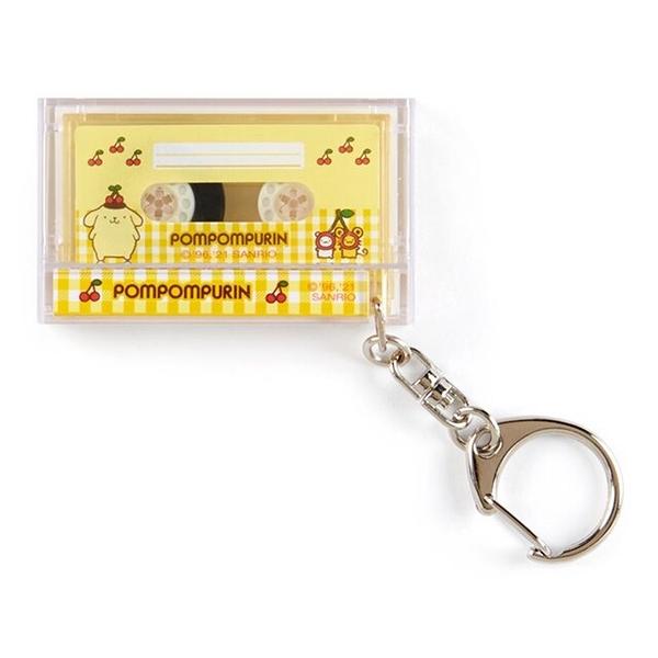 小禮堂 布丁狗 錄音帶造型鑰匙圈 (黃色款) 4550337-86731