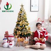 圣誕樹1.5米套餐節日裝飾品大小豪華版1.2/1.8/2.1發光加密套裝