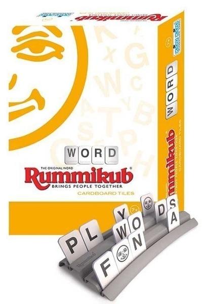 正版 拉密Rummikub CARDBOARD TILES-Word(英文字彙簡易版)