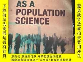 二手書博民逛書店Sociology罕見as a population science, by John GoldthorpeY