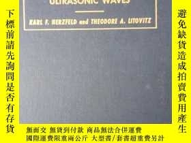 二手書博民逛書店ABSORPTION罕見AND DISPERSION OF ULIRASONIC WAVES(《超聲波的吸收與彌散