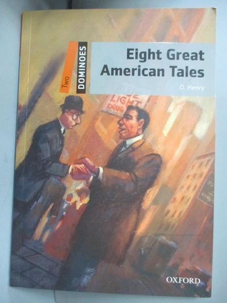 【書寶二手書T6/原文書_GMT】Eight Great American Tales_Henry, O./ Bowle