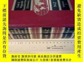 二手書博民逛書店英文原版罕見精裝 全2卷 funk & wagnalls standard desk dictionaryY7