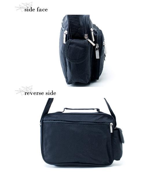 DF【Bag school 】紐約大都會超級精英實用多功能斜背包
