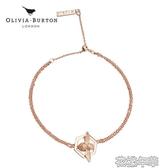 新款olivia burton手鐲女簡約ob 蜜蜂手鍊小眾設計開口鐲飾品 花樣年華