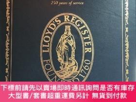 二手書博民逛書店英文原版Lloyd s罕見Register 250 years of service勞氏船級社成立250周年誌