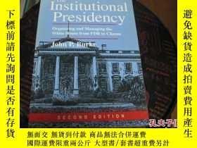 二手書博民逛書店the罕見institutional presidency983
