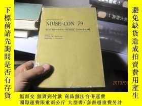 二手書博民逛書店7645罕見noise con. Machinery noise