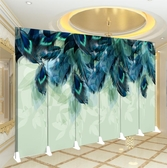 屏風 定制屏風北歐式隔斷酒吧簡約客廳辦公小戶型移動裝飾折疊遮擋