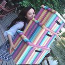 可折疊有蓋儲物箱玩具收納筐內衣服收納盒整理儲蓄箱子收納箱布藝MBS「時尚彩虹屋」