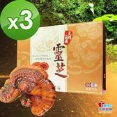 【天明製藥】莊園靈芝(60粒/盒)*3