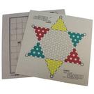 象棋盤 + 跳棋盤 木棋盤/一個入(促120) 雙面兩用棋盤 跳棋板 象棋板 MIT製-信