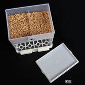 牡丹鸚鵡自動喂食器下料器鳥食盒食槽防撒防濺喂鳥器食碗用品 享購