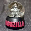 機械哥吉拉風暴中出現 水晶球 雪球 擺飾 日本限定 MEGA GODZILLA
