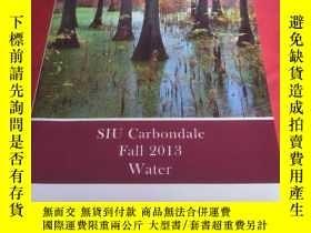 二手書博民逛書店SIU罕見Carbondale Fall 2013 WaterY