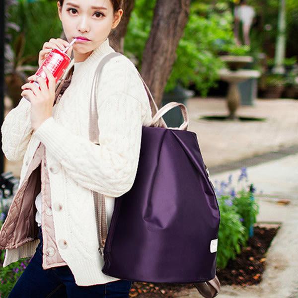 後背包 新款防水尼龍大容量後背包三件套(含後背包、側背包、小包) -3602 -寶來小舖-現貨販售