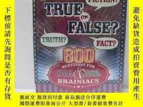 二手書博民逛書店true罕見or false?Y22565 不祥 不祥 ISBN