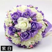 結婚手捧花婚慶韓式新娘仿真手捧花中式