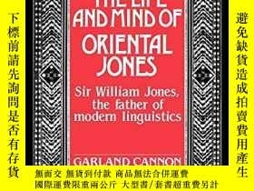 二手書博民逛書店The罕見Life And Mind Of Oriental JonesY256260 Garland Can