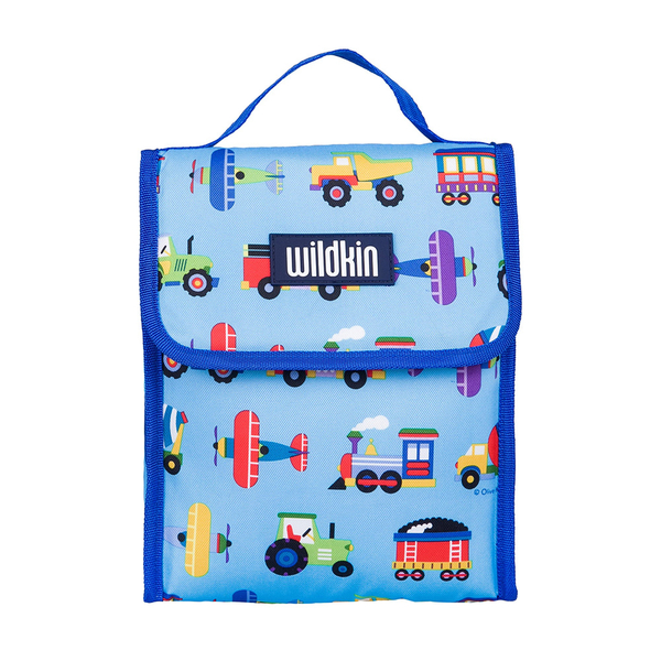 【LoveBBB】美國標準無毒 Wildkin 55079 交通工具大集合 直立式午餐袋/便當袋/保溫袋