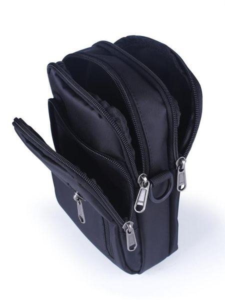 全館83折戶外腰包男士穿皮帶手機包6.8寸多功能掛包旅行單肩斜挎運動腰包