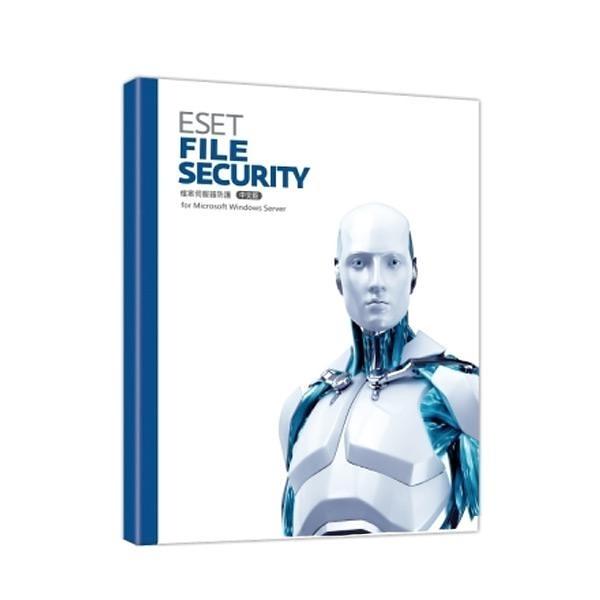 NOD32 for Single Win OR Linux File Server單機伺服器版3年