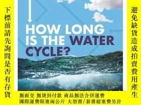 二手書博民逛書店How罕見Long Is the Water Cycle?Y34