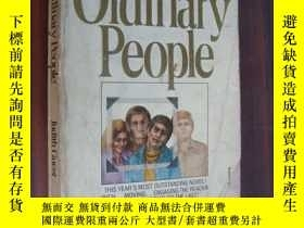 二手書博民逛書店Ordinary罕見People【英文原版】Y85718 Jud