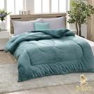 【Best寢飾】雙面激厚法蘭絨暖暖被 湖水藍 台灣製 150x200cm 重2.3kg 毯被 毯子 被子 棉被 法萊絨