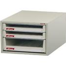 SHUTER 樹德 B4V-103P 桌上型資料櫃 3抽 300x400x210mm