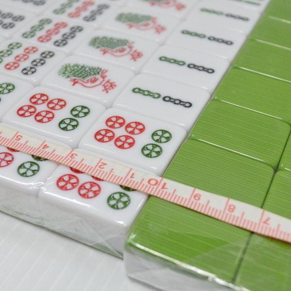 【DQ280】竹絲麻將30mm加重型(免運) 圍城 熊貓麻將(墨綠款)★EZGO商城★