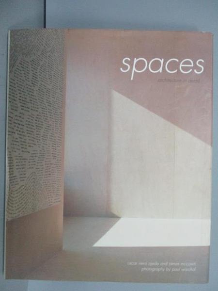【書寶二手書T8/設計_PBD】SPACES