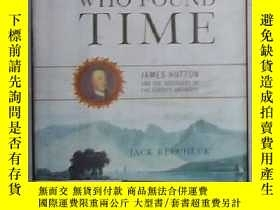 二手書博民逛書店英文原版罕見The Man Who Found Time by