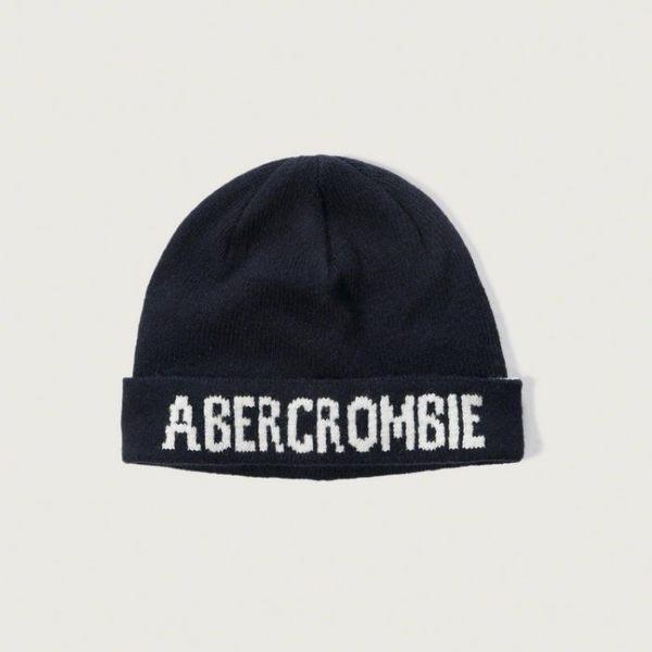 AF A&F Abercrombie&Fitch AF LOGO羊毛針織毛帽【美國麋鹿】