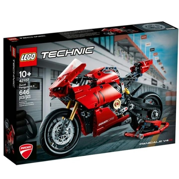 LEGO 樂高 42107 杜卡迪 Panigale V4R TECHNIC 系列 Ducati 科技系列