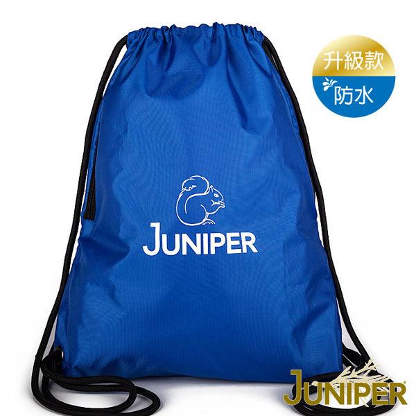 側背包-抽繩束口輕便旅行後背側背防水背包JP022 JUNIPER朱尼博