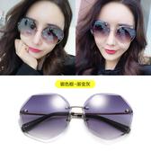 新款墨鏡 女ins 韓版潮圓臉 防紫外線網紅 太陽鏡 街拍眼鏡