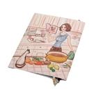 Reiko Aoki青木禮子Cooking彩繪書套730218-16