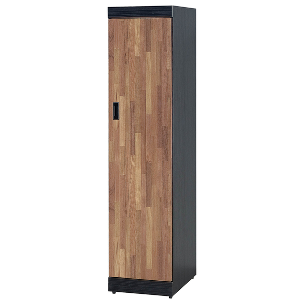 【森可家居】雙色積層1.3尺衣櫥 8SB116-2 細長窄型衣櫃 工業風 MIT 台灣製造