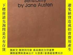 二手書博民逛書店Sense罕見and Sensibility by Jane A