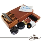 【SAPHIR莎菲爾-金質】核桃木保養禮盒-核桃木保養禮盒   木製收納盒