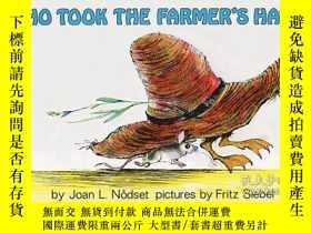 二手書博民逛書店英文原版罕見Who Took The Farmer s Hat?