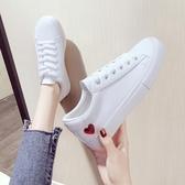 小白鞋女2019夏款透氣百搭平底春款白鞋板鞋休閒夏季網紅女鞋