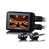 送32G卡『 寶麗萊 Polaroid MS276WG 』機車前後雙鏡頭行車紀錄器/記錄器 WIFI APP 160度廣角 F1.8 IP67