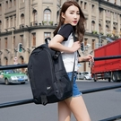電腦包 雙肩包男韓版學院風高中學生書包女 大容量帆布電腦包背包女旅行-凡屋