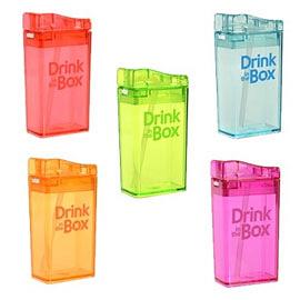 【加拿大Drink in the box】Tritan兒童運動吸管杯(小) /喝水杯/水壺 (多款選擇)