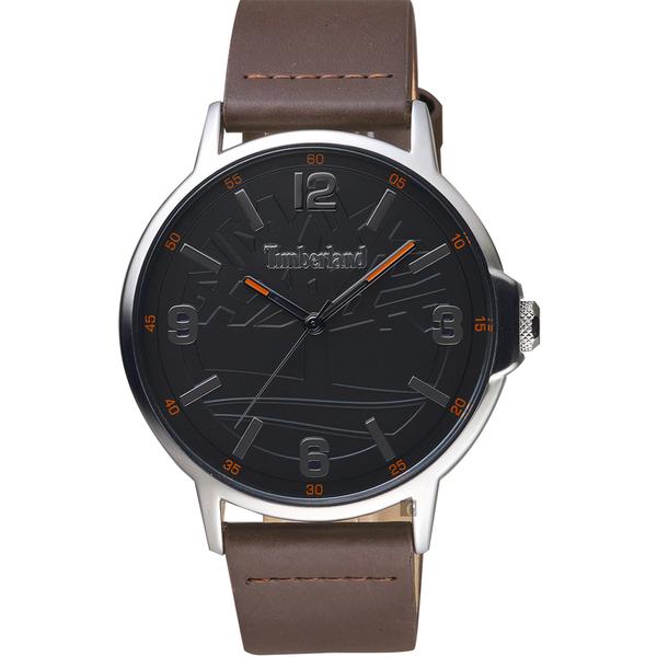 Timberland 天柏嵐 經典LOGO手錶-43mm TBL.16011JYS/03