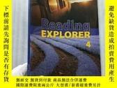 二手書博民逛書店Reading罕見EXPLORER 4【含光盤一張 內頁乾淨】大