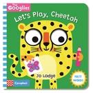 Let's Play,Cheetah 跟著獵豹玩遊戲操作書